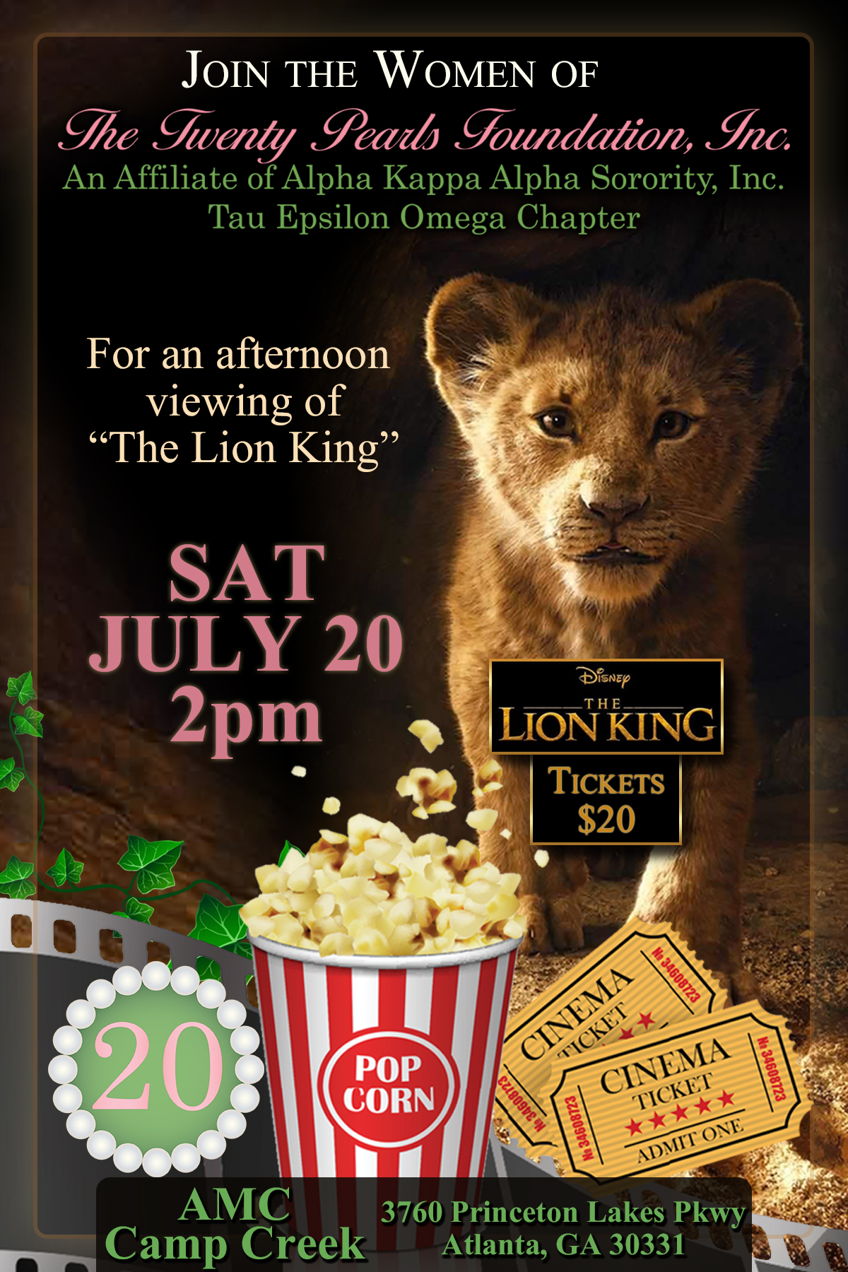Lion King Flyer