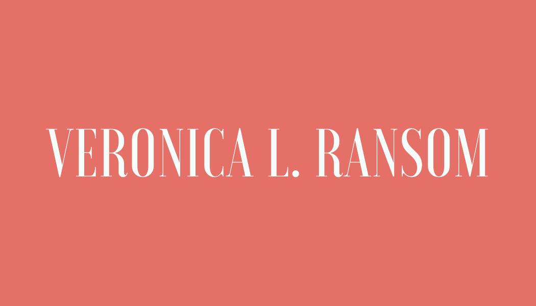 Veronica L. Ransom
